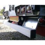 【純正タイプ リアバンパー】ステンレスヘアラインタイプ 大型トラック用3