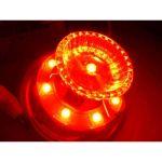 超流星 LED マーカーユニット 12V/24V 共用 レッド  明るさ3倍 車幅灯に 補修品
