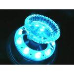 超流星 LED マーカーユニット 12V/24V 共用 ブルーイッシュホワイト 明るさ3倍 車幅灯に 補修品