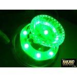 超流星 LED マーカーユニット 12V/24V 共用 グリーン 明るさ3倍 車幅灯に 補修品