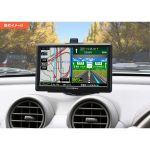 カー&トラック用 8GB地図データ カーナビ PN712A TV付の取付イメージ