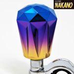 虹色に輝く ハンドルスピンナー ダイヤカット グラデーション