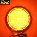 LED6 丸型反射板 リフレクター NEO 24V 橙