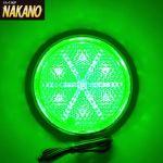 LED6 丸型反射板 リフレクター NEO 24V 緑