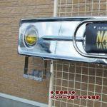 バンパーステップ(平型シマ板付き) R/Lセット4