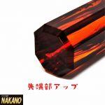 飴色に輝く 琥珀8角シフトノブ 150mm 10×1.25/12×1.25/12×1.75