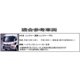 コーナーパネル メッキ R/Lセット 日野4 t レンジャープロ用/エアループレンジャープロ用2