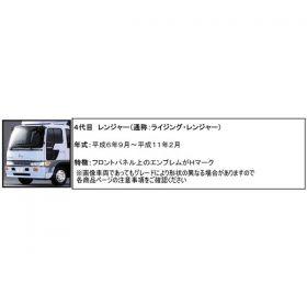 コーナーパネル メッキ R/Lセット 日野4t クルージング/ライジングレンジャー用3